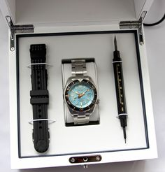 f2104ba33e1 Seiko Marinemaster 300M SLA015 Limited Edition Watch For Europe Only สไตล์
