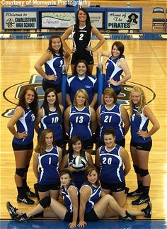 volleyball team picture ideas | 2011 Volleyball Team / Final Season Record:   I like this for a team picture