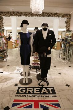 Los Angeles celebrates GREAT UK #fashion with Saks Fifth Avenue to promote Britain's best and brightest upcoming fashion designers.