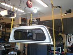 Diy truck cap lift stage 1 garage storage pinterest truck caps image result for diy truck cap hoist solutioingenieria Choice Image
