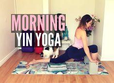 Morning Yin Yoga Class - Best Morning Yoga Stretches (ft. my cat Cleo) {... #KundaliniYoga