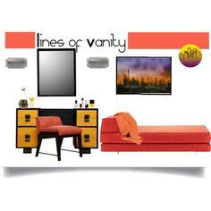 Lines of vanity for your modern bedroom Modern Bedroom, Modern Design, Vanity, Polyvore, Home, Dressing Tables, Bedroom Modern, Powder Room, Contemporary Design