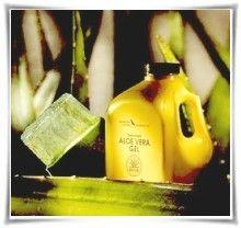 Χυμός Αλόης Βέρα και Φύλλο με Εσωτερικό Ζελέ