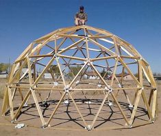 Image result for Geodesic Dome Connectors
