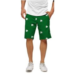 For the men ... Loudmouth Shamrock Shorts   #golf4her