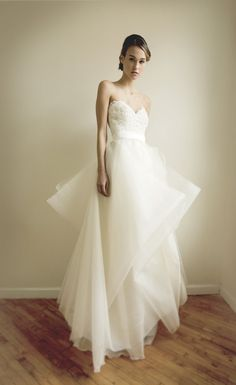 Janine Wedding Gown by Leanimal on Etsy, $2430.00