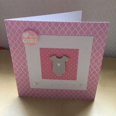 Carte de félicitations naissance pour une petite fille : Cartes par sab-and-paper