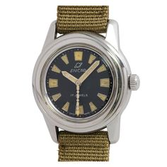7aa1bd6be80 Enicar Stainless Steel Sea Pearl Sherpa Automatic Diver s Wristwatch circa  1960s