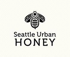 Seattle Urban Honey Logo by Writeshak (via Creattica)