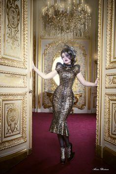 Madame de Pompadeur by Annie-Bertram.deviantart.com on @DeviantArt
