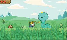 Adventure time game. Cute.