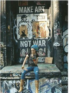 Make Art not War - Jamel Shabazz