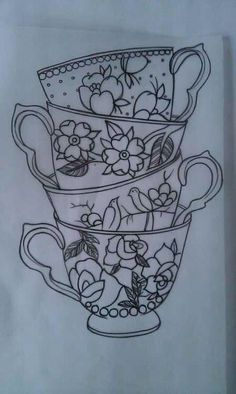 59 Ideas For Vintage Tattoo Ideas Sleeve Tea Cups Pretty Tattoos, Beautiful Tattoos, Cool Tattoos, Tatoos, Ship Tattoos, Modern Tattoos, Arrow Tattoos, Tattoo Sketches, Tattoo Drawings