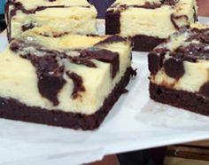 Cheesecake brownie marmolada