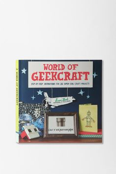 Geek meets craft in this fun collection of 25 kooky projects for geeks of any affiliation. From D&D dice earrings to Star Trek pillows, or Super Mario cross-stitch to Star Wars terrariums, and so much more!