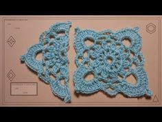 ▶ Applique geometrico Crochet - YouTube