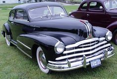 First car I remember was in Whittier CA.  1948 Pontiac Silver Streak.  It was sold to someone in our church who turned it into a tow truck.