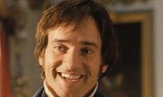 Mr. Darcy smiles The closest you ever see of him blushing...