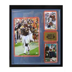 NFL 30x34 Autograph Frame, Arian Foster Houston Texans
