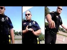 Texas Cop Vs Complete Idiot - YouTube This Cop correctly showed great patience and restraint dealing with this idiot. Cannot help but wonder if he would have been so patient if the idiot in the car had been a mouthy black man. Let's give him the benefit of the doubt for now because he deserves it after not strangling this moron..