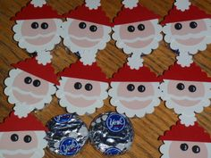 Peppermint Patty Santas!   Stampin Up Demonstrator - Tami White - Stamp With Tami Crafting and Card-Making Stampin Up blog