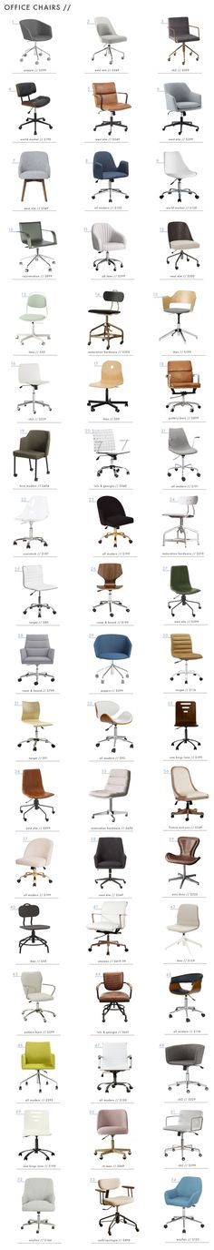 When it comes to office chairs it usually means function over form. Frankly, its such a boring but necessary thing to buy.
