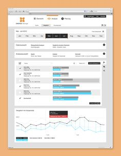 Greenpocket Business Portal by Philipp Wein, via Behance