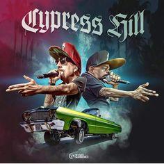 629 Likes, 57 Comments - Adolfo Guerrero Cypress Hill, Arte Cholo, Hill Logo, Female Werewolves, Arte Hip Hop, Weed Humor, Hip Hop Rap, Black Artists, Hip Hop Fashion