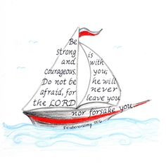 Nautical, Bible Verse art print, digital typography, wall art decor nautical drawing inspirational b Bible Verse Art, Bible Verses Quotes, Bible Scriptures, Scripture Painting, Scripture Doodle, Healing Scriptures, Journaling, Bibel Journal, Motivational Quotes For Women