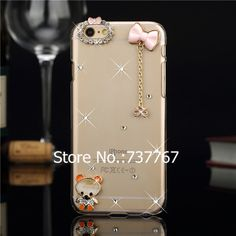 """Luxury Bling Diamond Rhinestone cover Case For iPhone 6 4.7inch Shining Crystal protective case cover For iphone 6 4.7"""""""
