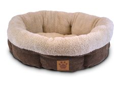 Features:  -Polyester fill is made from recycled plastic bottles.  -Machine-wash in cold water, gentle cycle.  -Wash separately.  -Dry flat.  -Removable bottom: No.  Color: -Brown.  Bed Material: -Pol