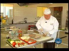 Culinaria - Lingua de boi recheada