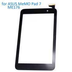 ALANGDUO for ASUS MeMO Pad 7 ME176 ME176CX K013 Touch Screen Digitizer Panel Front Replacement Touchscreen Tablet