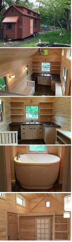 mytinyhousedirectory: The Brownie By Liberation Tiny Homes