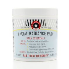 First Aid Beauty Facial Radiance Pads x60 - These pads brighten, exfoliate and tone the skin so are ideal for perfecting the skin for the Summer when I wear lower coverage foundations #feeluniquemagpies