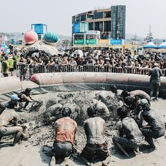 Boryeong Mud Festival! #Boryeong #mudfestival