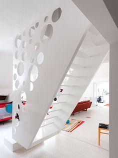 Scale interne moderne design originale in legno acciaio vetro marmo ferro cemento nuovi modelli scale a sbalzo elicoidali a chiocciola sospese Foto idee