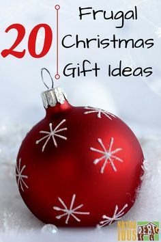 You don't have to break your budget to put a smile on someone's face this Christmas. Here are 20 different Christmas gift ideas that cost little or nothing!