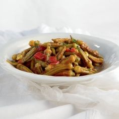 Greek Okra stew - Another easy and delicious classic vegetarian Summer dish-needs a protein added.
