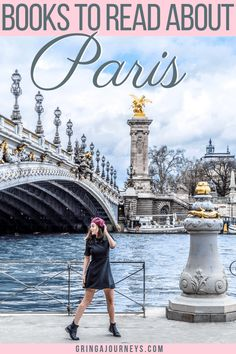 """Before heading to """"the city of love"""", make sure to read these Paris books! I'll be listing 23 great options of books set in Paris. #paris #parisbooks #france"""