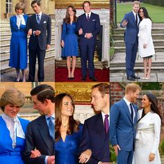 #RoyalBritishEngagements #RoyalParentsAndRoyalSons HRH Prince Charles of Wales to Lady Diana Spencer - February 1981 HRH Prince William of Wales to Catherine Middleton- November 2010 HRH Prince Henry of Wales to Meghan Markle - November 2017 via ✨ @padgram ✨(http://dl.padgram.com)