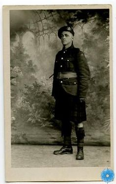 Postcard, The Army Museum. 1918. Private R. Rideout of the 85th Battalion