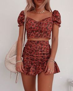 Cute fashion outfits ideas – Fashion, Home decorating Basic Outfits, Cute Casual Outfits, Girly Outfits, Cute Summer Outfits, Pretty Outfits, Spring Outfits, Fashionable Outfits, Fresh Outfits, 2 Piece Outfits