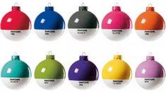 Pantone Ornaments
