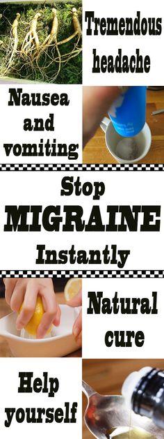 Stop migraine instantly. #migraine #migrainerelief #headacheremedies