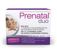 Prenatal DUO Classic x 30 pills x 60   DHA capsules