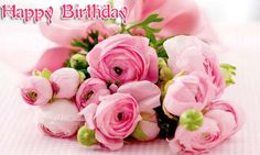 Happy Birthday Flowers Images Free Download For Facebook - Here is a list of best bday flowers pictures, happy birthday wishes greeting cards, roses images