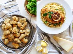 One Recipe, Two Meals: Crispy Baked Chicken  from  Food Network