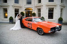 Is your partner a bit of a petrolhead? Organise an amazingly unusual wedding car to take them to the venue, or for pictures after the ceremony. Quirky Wedding, Farm Wedding, Wedding Cars, Wedding Transportation, Facon, On Your Wedding Day, Wedding Photos, Wedding Ideas, Marie