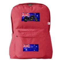 Lookin' Good Patriotic Australian Aussie Flag American Apparel™ Backpack